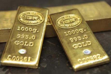Giá vàng áp sát mức đỉnh của 7 tuần