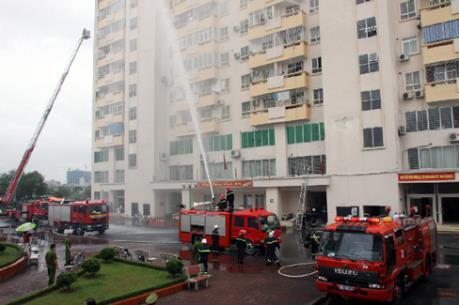 An toàn cháy nổ tại chung cư cao tầng: Còn nhiều nỗi lo!