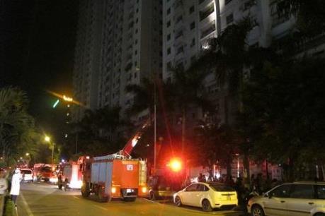 Vụ hỏa hoạn ở Khu đô thị Xa La: Chủ đầu tư  đền bù thiệt hại cho dân