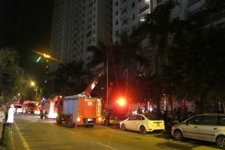 Hà Nội đã cấp điện lại cho khu đô thị Xa La