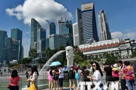"""Singapore """"né"""" được suy thoái kỹ thuật trong quý III/2015"""