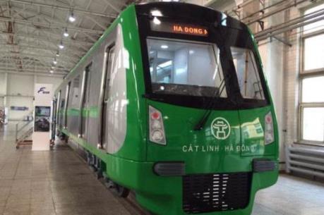 Chuẩn bị trưng bày toa tàu mẫu đường sắt Cát Linh-Hà Đông