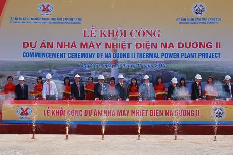 Đầu tư 192 triệu USD xây dựng Nhà máy Nhiệt điện Na Dương II