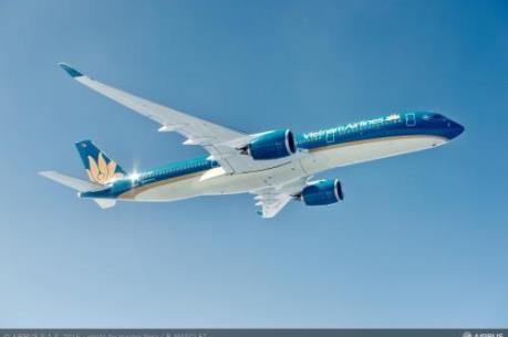 Vietnam Airlines đưa Airbus 350 vào khai thác trên tuyến Hà Nội-Seoul