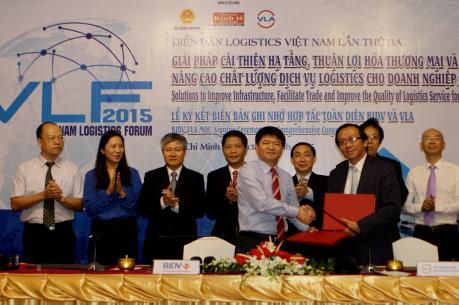 BIDV hợp tác toàn diện với Hiệp hội Doanh nghiệp dịch vụ Logistics Việt Nam