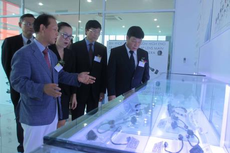 Khánh thành nhà máy linh kiện điện tử Sekonix Vina