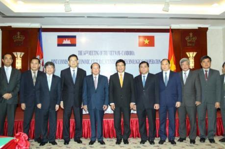 Ủy ban hỗn hợp Việt Nam-Campuchia nhóm họp tại TPHCM
