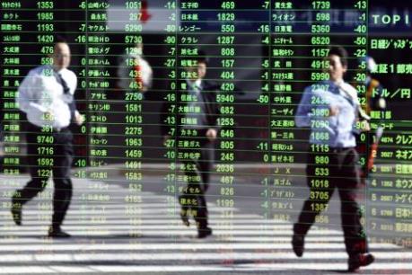 Chứng khoán châu Á mất điểm vì kinh tế Trung Quốc giảm tốc