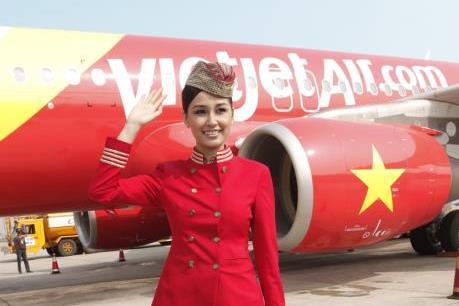 """VietJet Air khuyến mại ba """"ngày vàng"""" trên nhiều đường bay"""