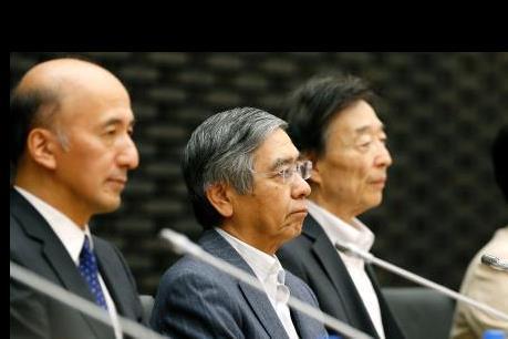 """Thống đốc BoJ: Kinh tế Nhật Bản phục hồi """"vừa phải"""""""