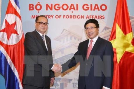 Việt Nam-Triều Tiên lấy hợp tác kinh tế làm trọng tâm