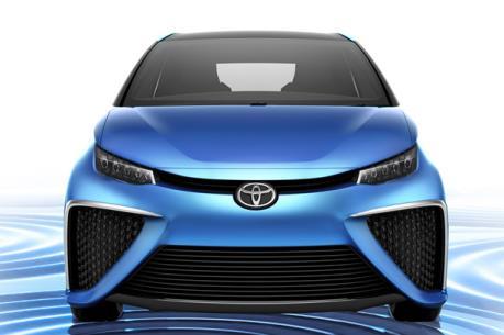 Toyota sắp ra mắt mẫu xe ý tưởng độc đáo FCV