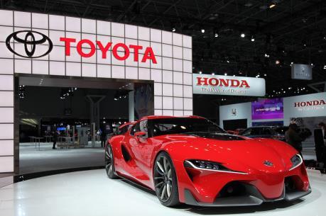 Toyota dẫn đầu về doanh số bán ô tô toàn cầu