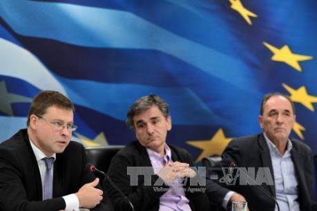 Các chủ nợ quốc tế hoãn giải ngân cho Hy Lạp