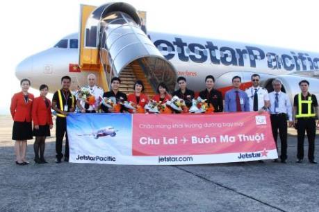 Jetstar Pacific khai trương đường bay Chu Lai–Buôn Ma Thuột