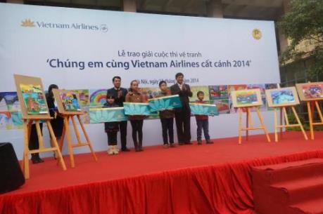 """Vietnam Airlines tổ chức cuộc thi vẽ tranh """"Sải cánh vươn cao"""""""