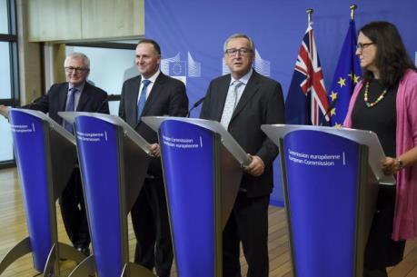 EU và New Zealand khởi động đàm phán FTA