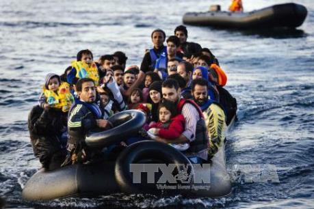Vấn đề người di cư: Đức cam kết hỗ trợ Hy Lạp