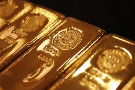 """Giá vàng lình xình quanh mức """"đáy"""" của 3 tuần"""