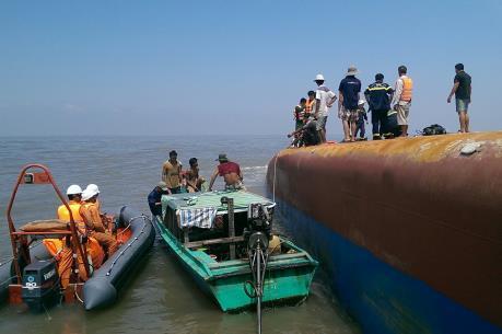 Vụ chìm tàu trên sông Soài Rạp: Đã xác định danh tính các nạn nhân