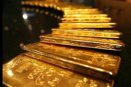 """Giá vàng châu Á ngày 7/6 vẫn gần mức """"đỉnh"""" của hai tuần"""
