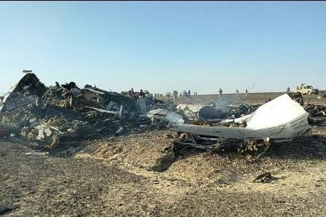 Máy bay Nga rơi tại Ai Cập: Phát hiện thêm mảnh vỡ thân máy bay