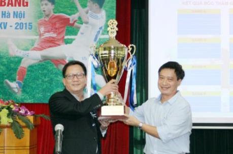 Number 1 tài trợ Giải bóng đá học sinh THPT Hà Nội