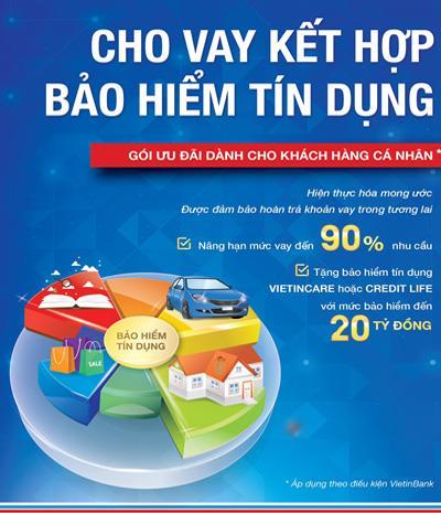 VietinBank thêm sản phẩm cho vay 90% nhu cầu tín dụng