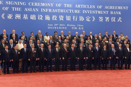 UBTV Quốc hội Trung Quốc phê chuẩn thỏa thuận thành lập AIIB