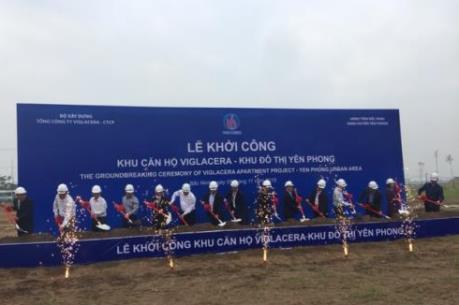 Khởi công xây dựng khu căn hộ Viglacera tại Bắc Ninh