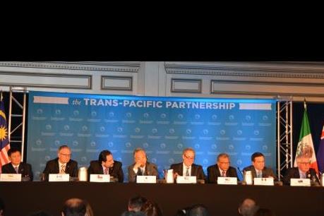 Công bố nội dung chi tiết của thỏa thuận TPP