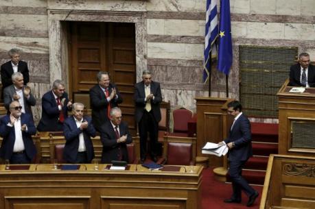Quốc hội Hy Lạp thông qua dự luật cải cách mới theo yêu cầu của các chủ nợ