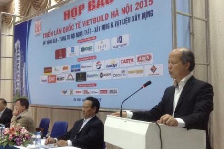 Từ ngày 11 đến 15/11 sẽ diễn ra Triển lãm quốc tế Vietbuild Hà Nội 2015