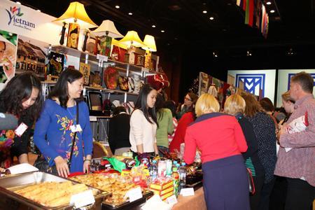 Món ăn Việt hút khách tại Hội chợ ẩm thực ở Praha