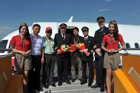 VietJet Air đón nhận tàu bay mới thứ 29