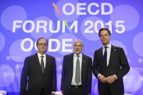 OECD hạ dự báo tăng trưởng kinh tế thế giới