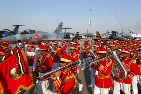 Triển lãm Hàng không quốc tế Dubai: Máy bay quân sự hút khách