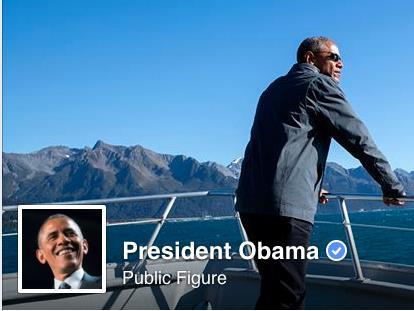 """Tổng thống Mỹ gia nhập đại """"gia đình"""" Facebook"""
