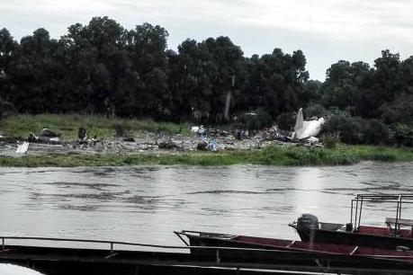 Tìm thấy hộp đen của máy bay rơi tại Nam Sudan