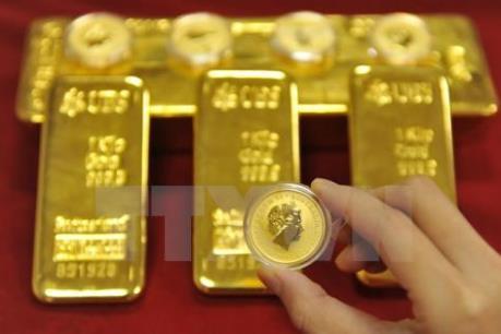 Giá vàng châu Á lên mức cao nhất trong gần 3 tháng