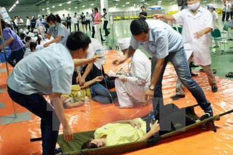 Vụ ngộ độc thực phẩm Nam Định: Công ty tạm dừng cung cấp suất ăn