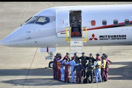 Nhật Bản thử nghiệm thành công máy bay dân dụng