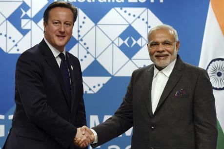 Ấn Độ và Anh ký kết các hợp đồng trị giá gần 14 tỷ USD