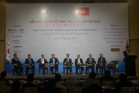 Diễn đàn kinh tế đầu tiên giữa Việt Nam và Hàn Quốc