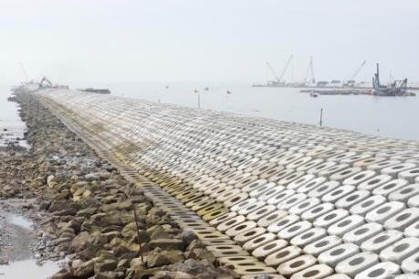 Dự án cửa Lạch Giang sẽ được đưa vào khai thác đầu tháng 12