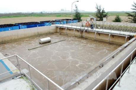 Xây trạm xử lý nước thải tại khu công nghiệp Yên Phong