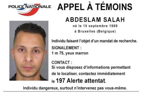Vụ khủng bố tại Paris: Pháp công bố bức ảnh nghi can đầu tiên