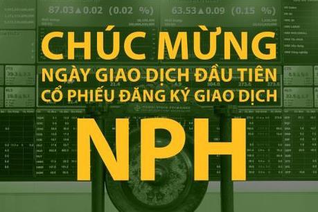 NPH đưa 2 triệu cổ phiếu giao dịch trên UPCoM