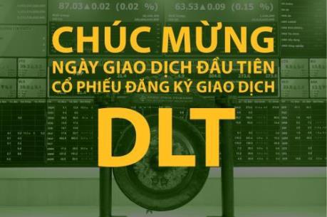 DLT đưa 2,5 triệu cổ phiếu lên sàn UPCoM