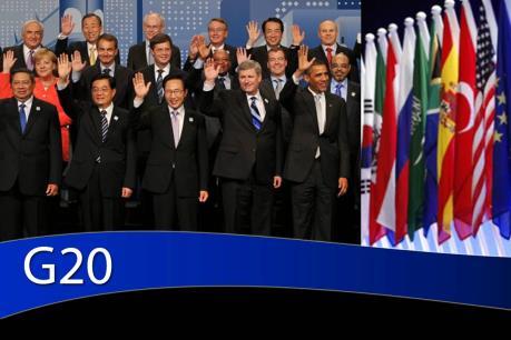 G20 nhất trí thúc đẩy tăng trưởng kinh tế bền vững